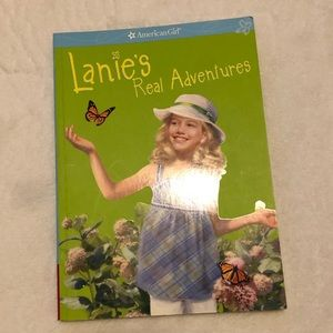 Lanie's Real Adventure American Girl Doll book